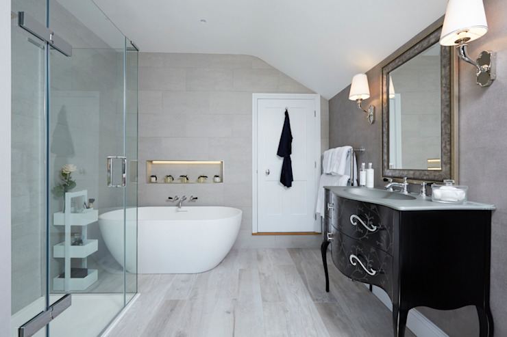 Victorian Townhouse Modern style bathrooms by Etons of Bath Modern