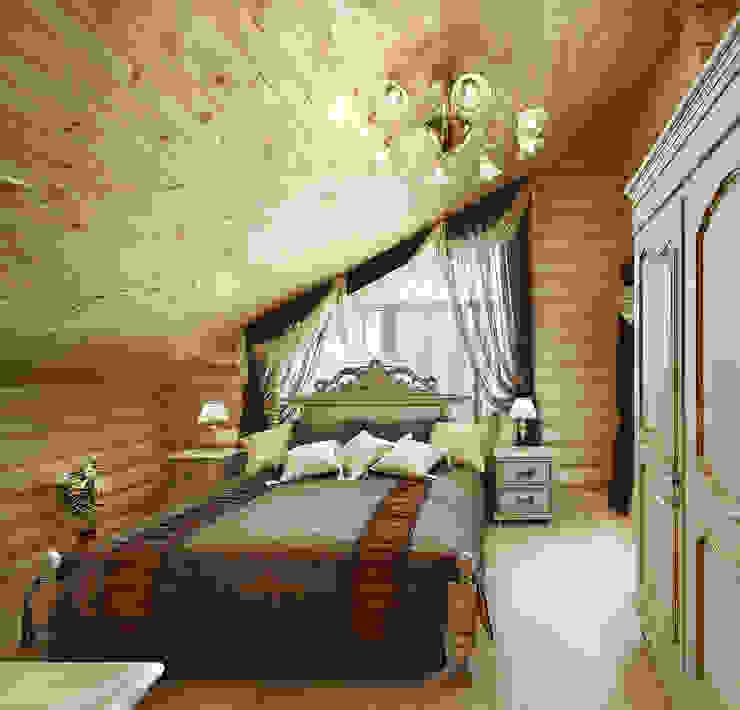 Kırsal Yatak Odası Архитектурная студия 'Солнечный дом' Kırsal/Country