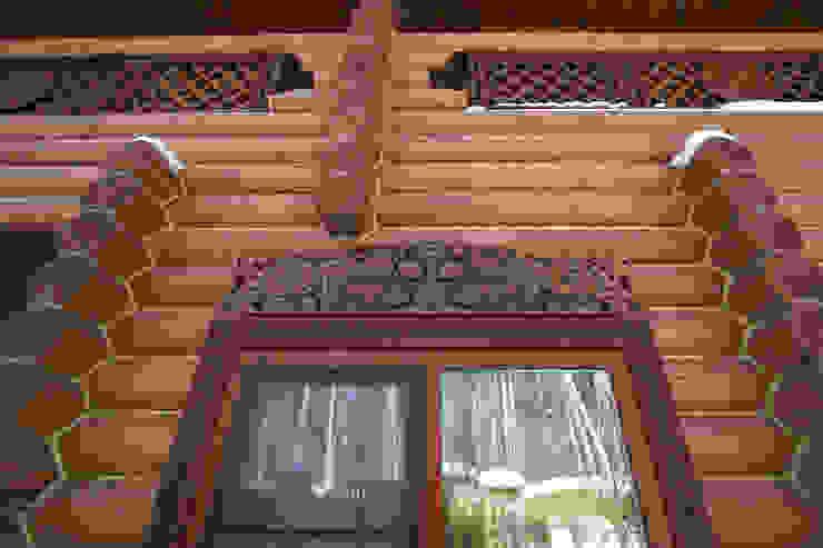Maisons de style  par Архитектурная студия 'Солнечный дом', Rural