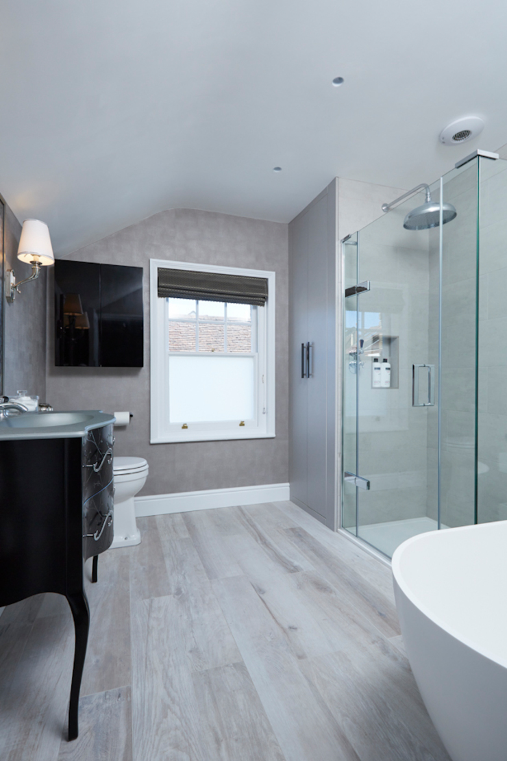Victorian Townhouse Etons of Bath Modern bathroom
