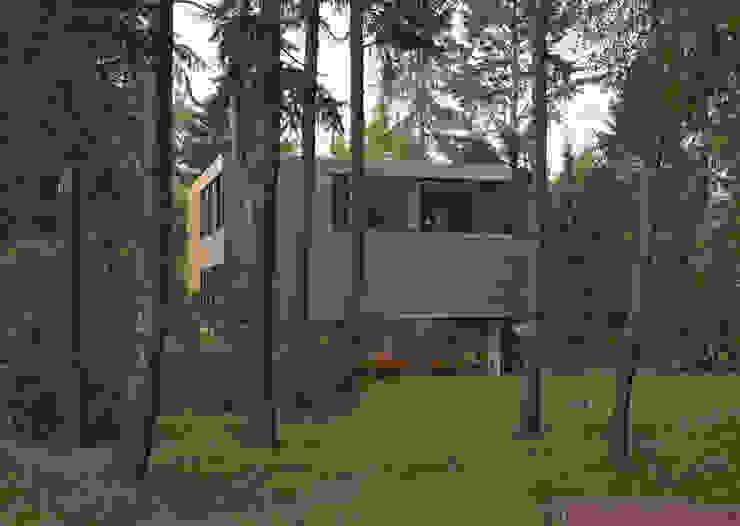 미니멀리스트 주택 by Helm Westhaus Architekten 미니멀