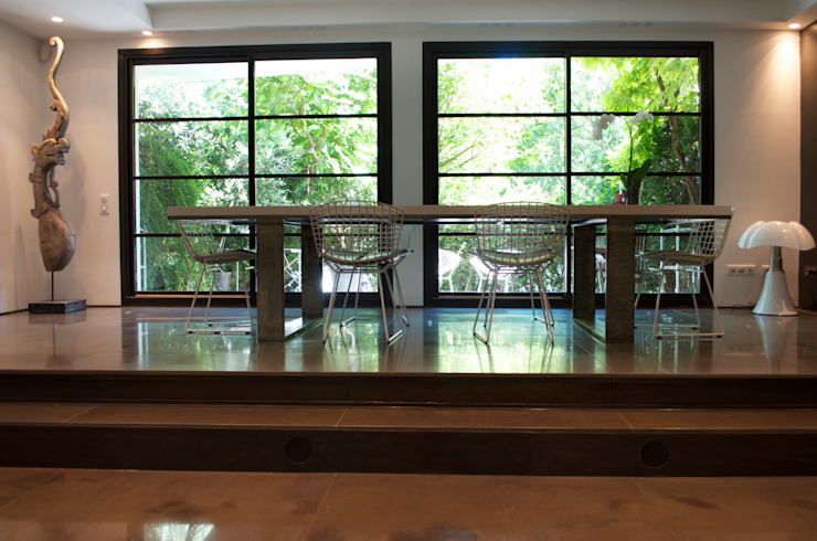 Volume-design Salle à manger moderne par volume Moderne