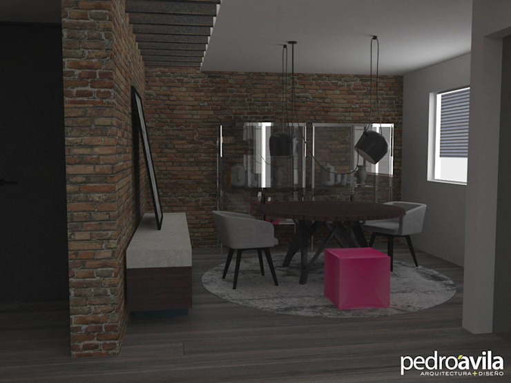 Modern living room by pedroavila.com.mx Modern