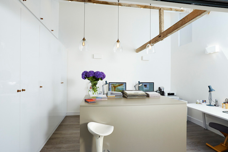 Our studio. Designed by Latham Interiors Etons of Bath Modern offices & stores
