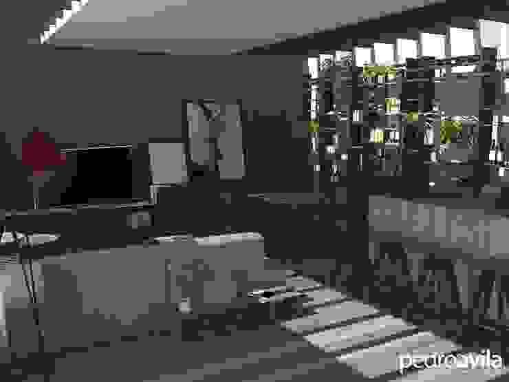 Modern balcony, veranda & terrace by pedroavila.com.mx Modern