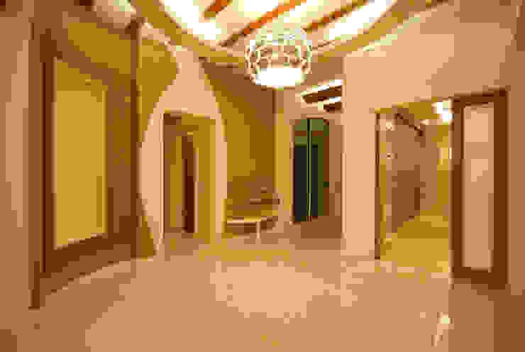 EYMEN RESİDENCE Modern Koridor, Hol & Merdivenler santimetre mimarlık Modern