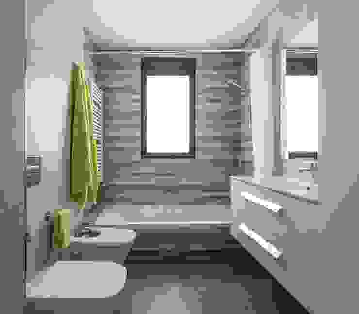 地中海スタイルの お風呂・バスルーム の LLIBERÓS SALVADOR Arquitectos 地中海