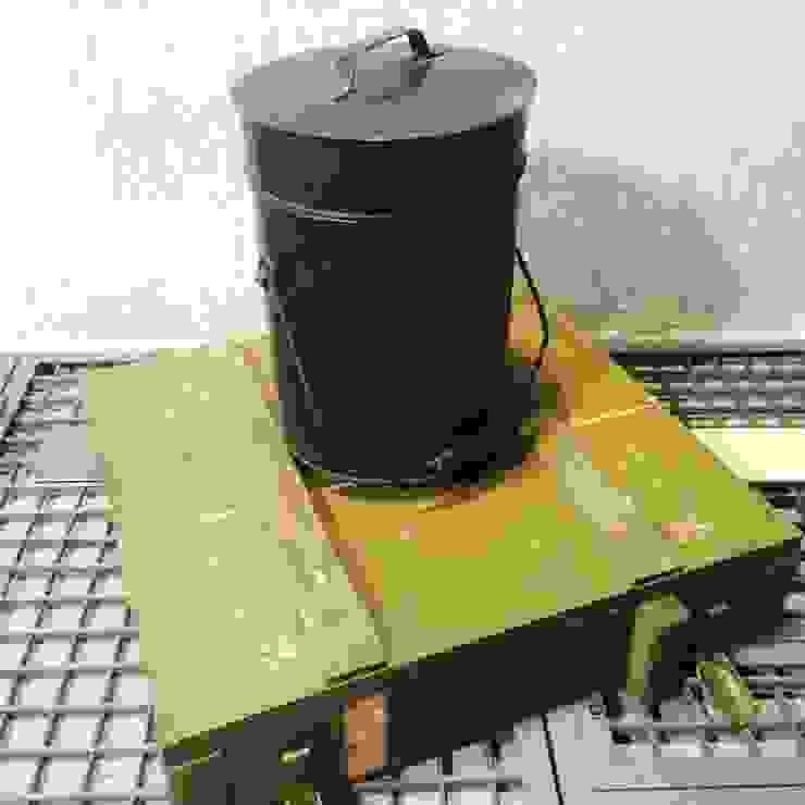 Garbage bucket: industriell  von Urban Industrial,Industrial Eisen/Stahl