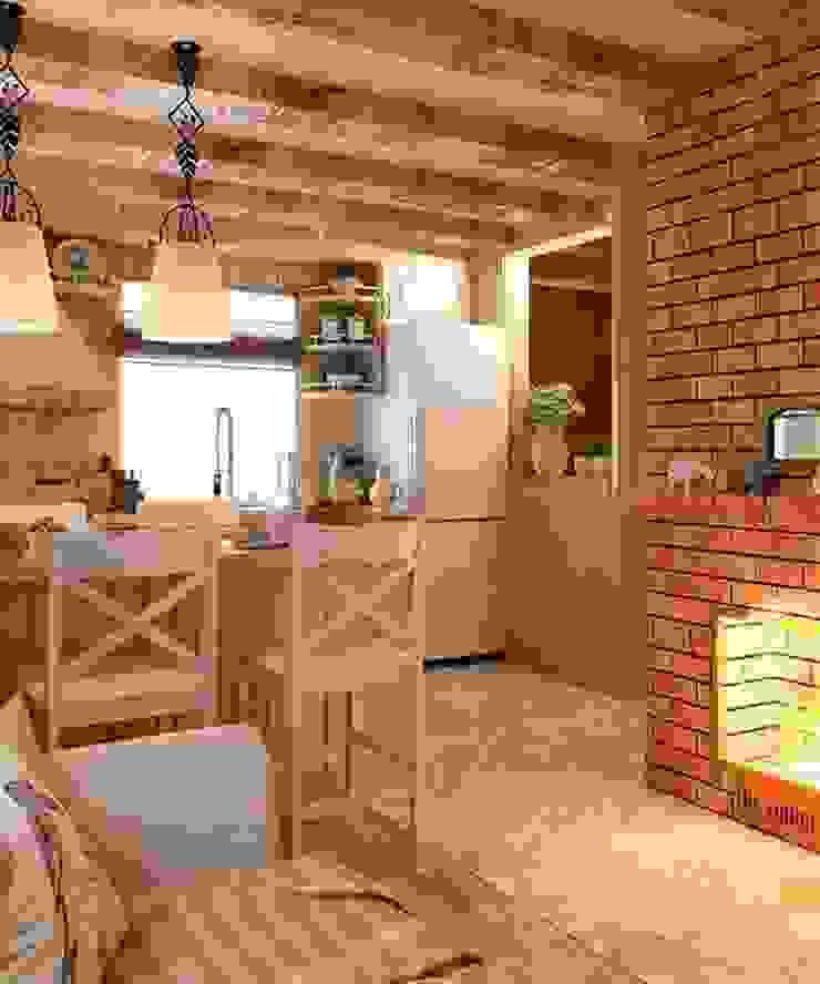 Дизайн интерьера дома Кухня в стиле кантри от MoRo Кантри