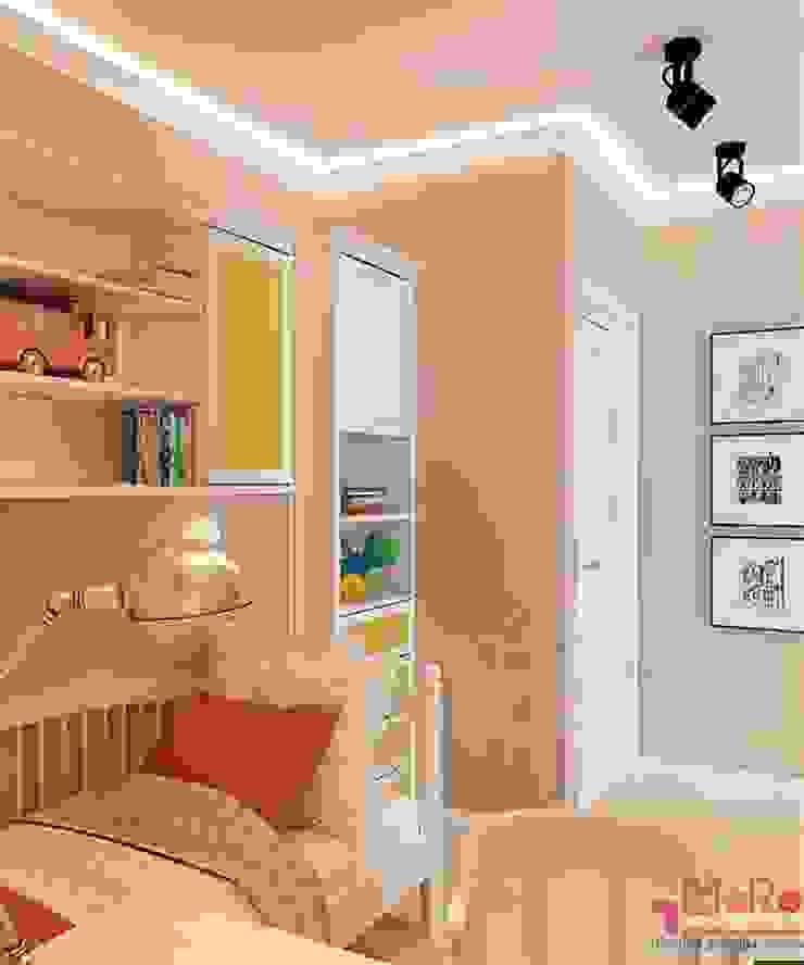 Дизайн проект 2к.кв. в смешанном Американском стиле Детская комнатa в классическом стиле от MoRo Классический