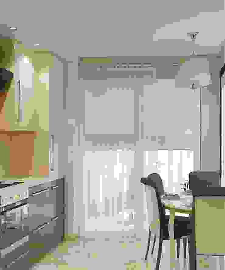 Дизайн проект квартиры в Коломягах Кухня в классическом стиле от MoRo Классический