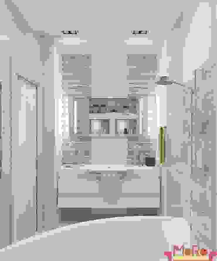 Дизайн проект квартиры в Коломягах Ванная в классическом стиле от MoRo Классический