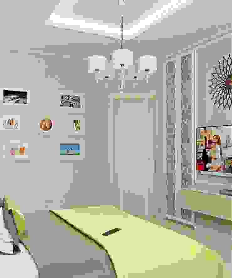 Дизайн проект квартиры в Коломягах Спальня в классическом стиле от MoRo Классический