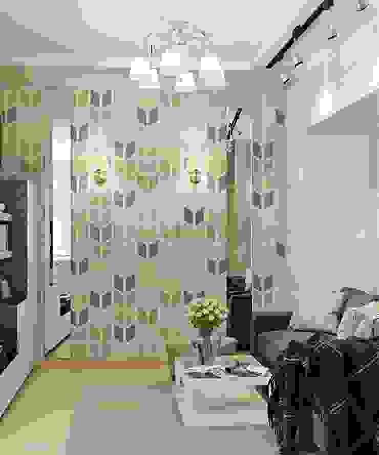 Дизайн проект квартиры в Коломягах Гостиная в классическом стиле от MoRo Классический