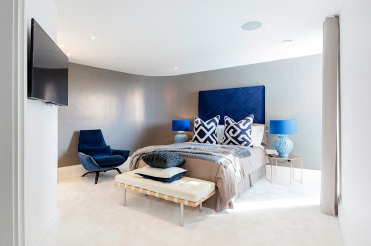 Bedroom Modern style bedroom by WN Interiors Modern