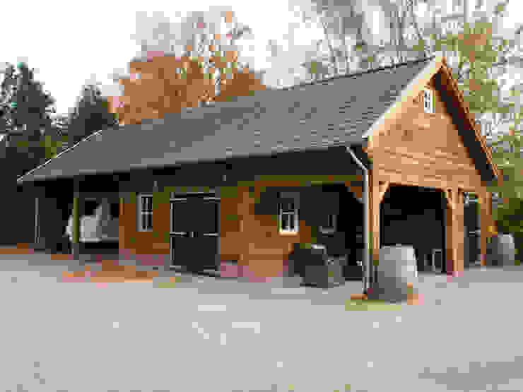 Houten garages:  Garage/schuur door Geldersche Houtbouw,