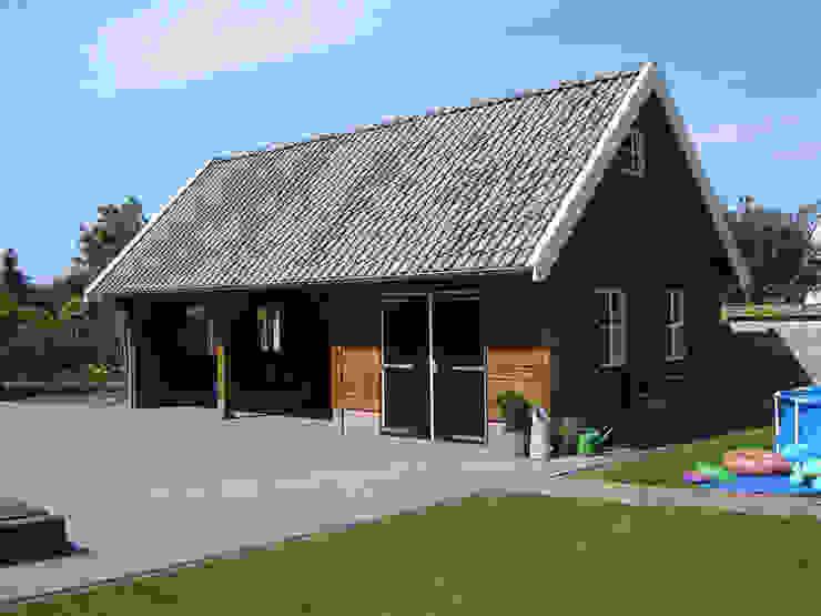 Garajes de estilo  por Geldersche Houtbouw, Rural