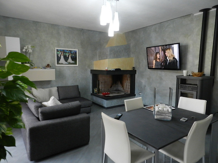 Modern Oturma Odası SOGEDI costruzioni Modern
