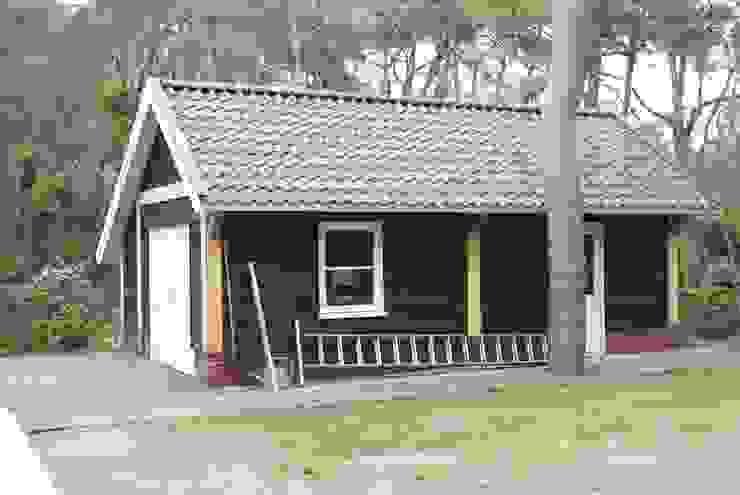Houten garages Landelijke garage van Geldersche Houtbouw Landelijk