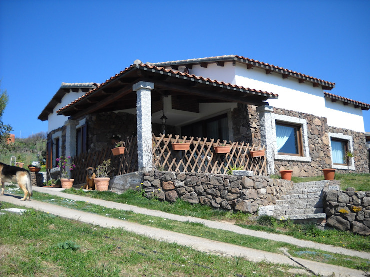 Rustic style houses by SOGEDI costruzioni Rustic