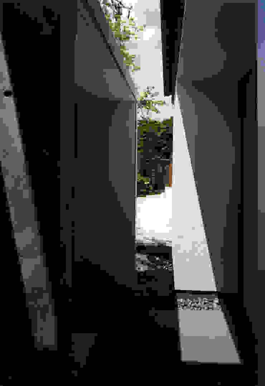 東福寺の家 モダンな庭 の 株式会社 坂田基禎建築研究所 モダン