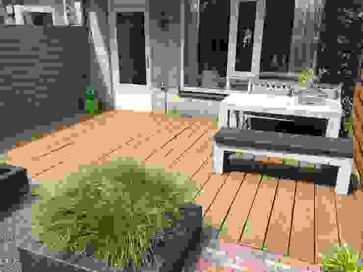 Kleine tuin Hoofddorp Moderne tuinen van Biesot Modern