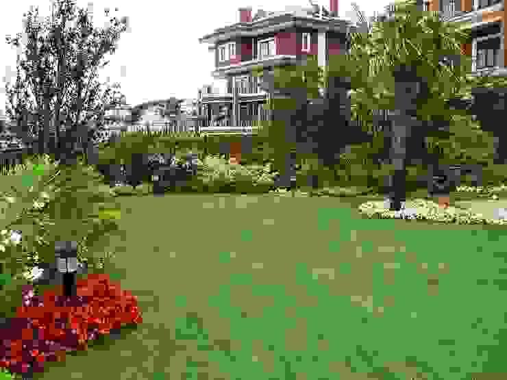 Country style garden by Bahçevilla Peyzaj Tasarım Uygulama Country