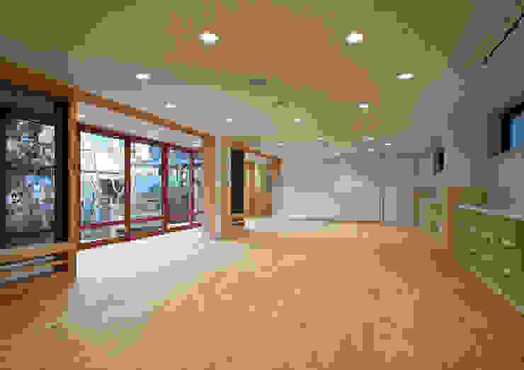 1階保育室 アジア風学校 の ユニップデザイン株式会社 一級建築士事務所 和風