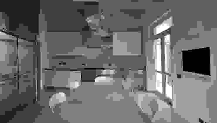 CASA FA, Caserta 2010 Cucina moderna di x-studio Moderno