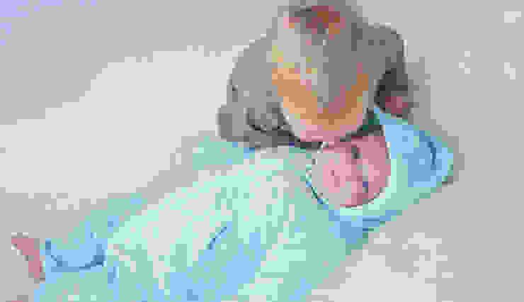 Babypakje van Teddystof. Gemaakt van 100% GOTS keurmerk BIOLOGISCH katoen. van Baby1suit