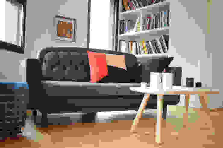 Maison d'architecte à Tours avec Nordkraft.com par Studio Félix Patrat Scandinave