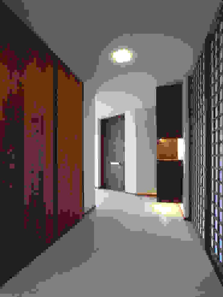 1階廊下 和風の 玄関&廊下&階段 の ユニップデザイン株式会社 一級建築士事務所 和風