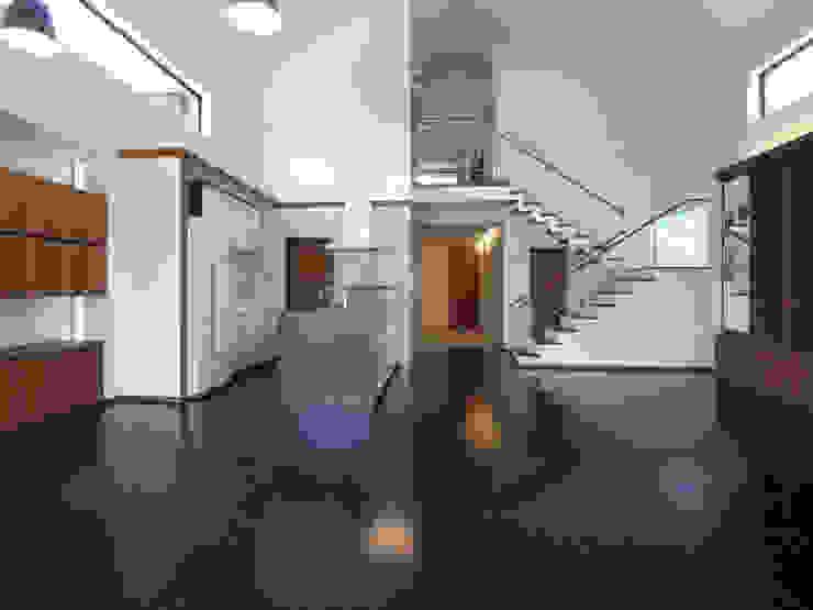 1階リビング 和風デザインの リビング の ユニップデザイン株式会社 一級建築士事務所 和風