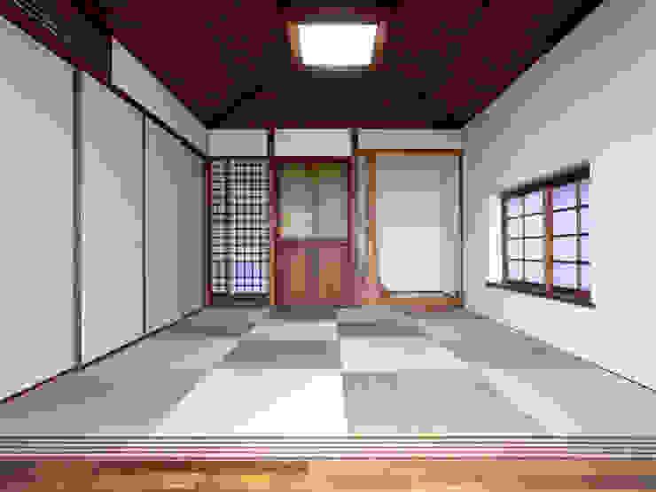 1階和室 和風デザインの 多目的室 の ユニップデザイン株式会社 一級建築士事務所 和風