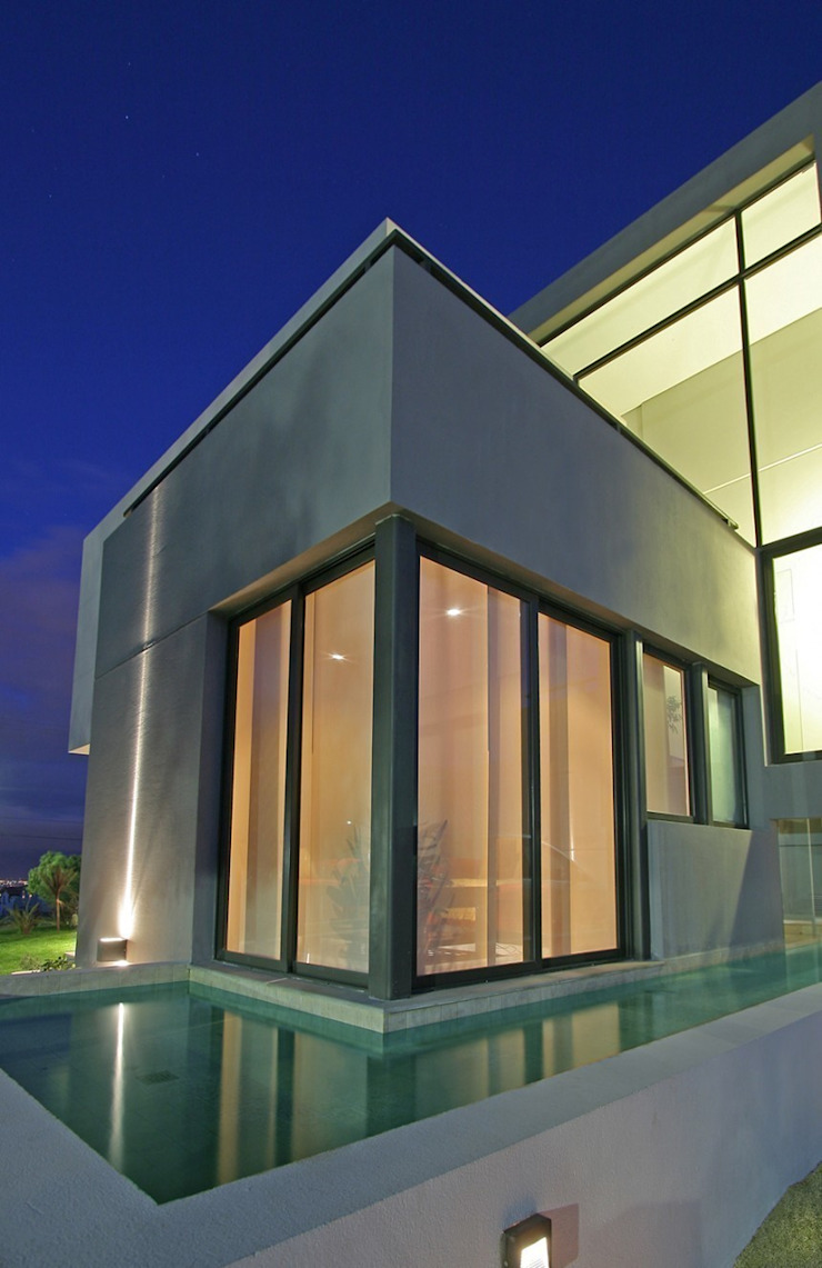 Proyecto D1 Casas modernas: Ideas, imágenes y decoración de CLEMENT-RICO I Arquitectos Moderno