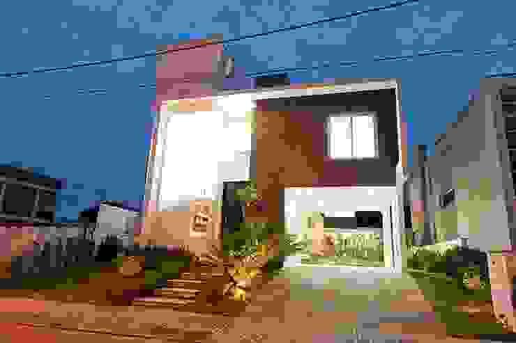 Casa AP+VP Casas modernas por ANDRÉ PACHECO ARQUITETURA Moderno