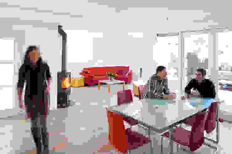 Aanzicht vanaf eethoek (na) NarrativA architecten