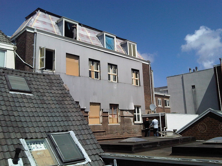 Nowoczesne domy od Brand Olink Architecten Nowoczesny