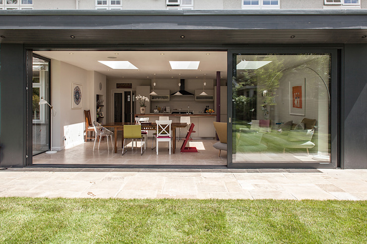 Rear Extension Modern houses by Nic Antony Architects Ltd Modern