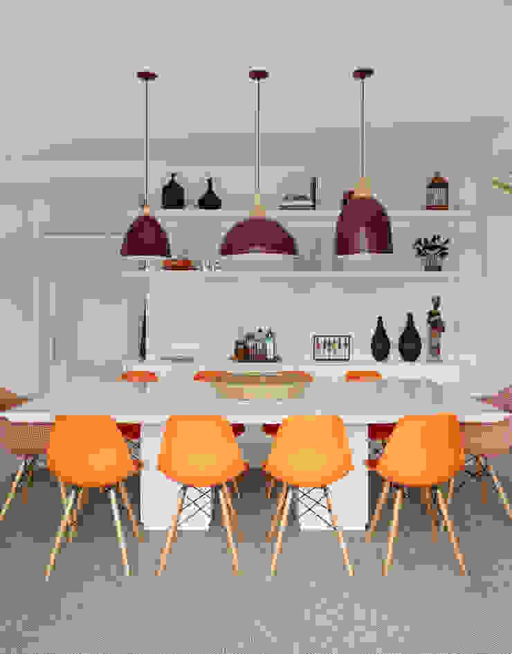 Sala de Jantar Salas de jantar ecléticas por Duda Senna Arquitetura e Decoração Eclético