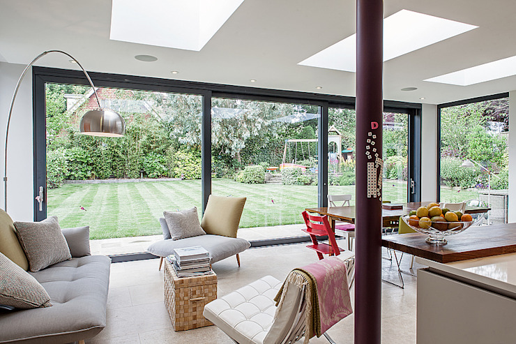Essex Chic Salas de estar modernas por Nic Antony Architects Ltd Moderno