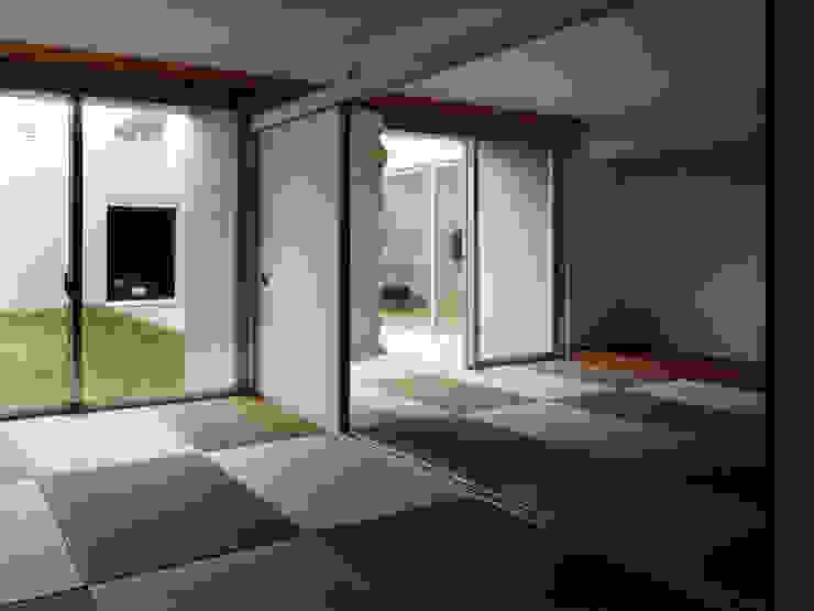 長岡京の住宅 和風デザインの 多目的室 の 宮崎仁志建築設計事務所 和風