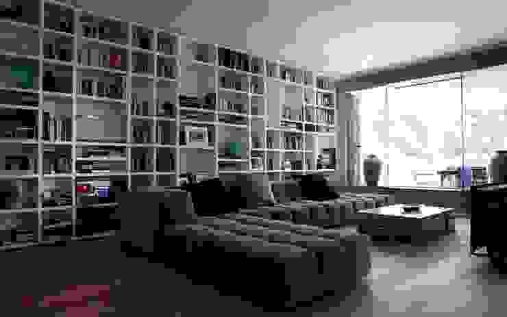 Milano 2 Soggiorno moderno di Vezzoli Ristrutturazioni S.r.l. Moderno