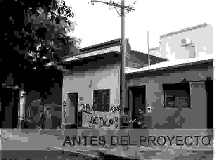 FACHADA ANTES DEL PROYECTO de D'ODORICO ARQUITECTURA Moderno