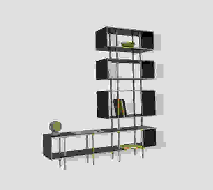 Sistema DLK_librero:  de estilo  por Dellekamp Arquitectos, Minimalista