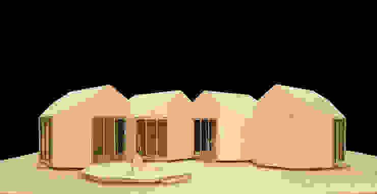 Octágono_vivienda prefabricada Casas minimalistas de Dellekamp Arquitectos Minimalista
