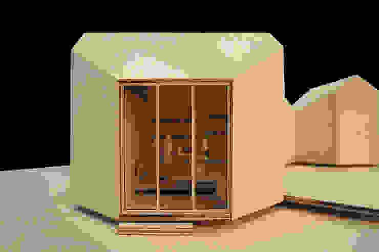 Octágono módulo base Casas minimalistas de Dellekamp Arquitectos Minimalista