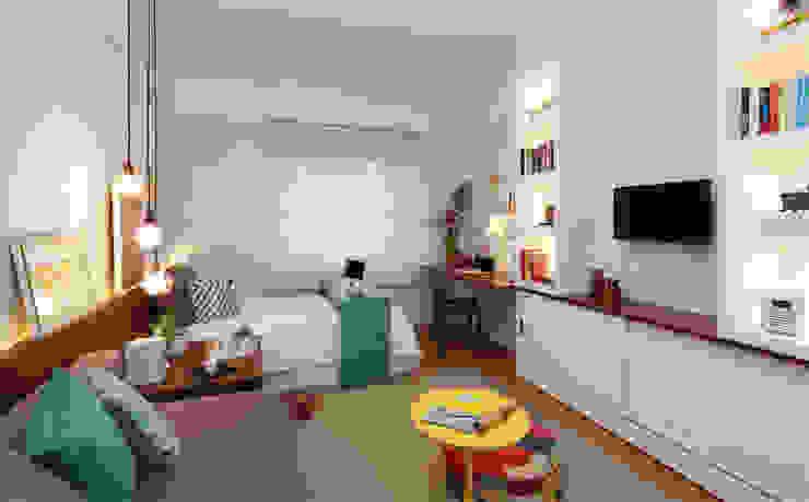 Duda Senna Arquitetura e Decoração:  tarz Yatak Odası