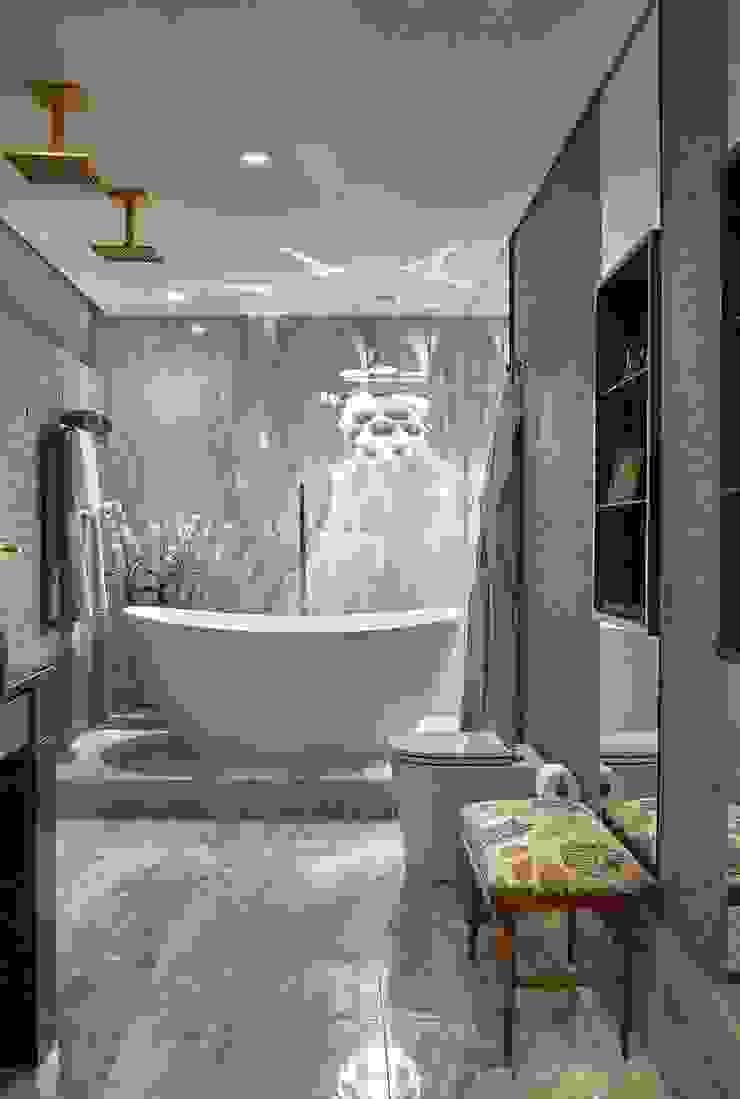Studio Alessandra Lobo Modern Bathroom