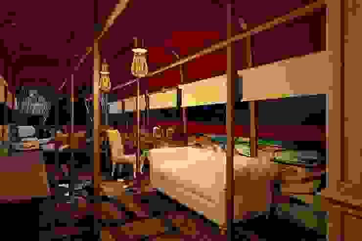 2 этаж автобуса Рабочий кабинет в стиле лофт от Veronika Brown Studio Лофт